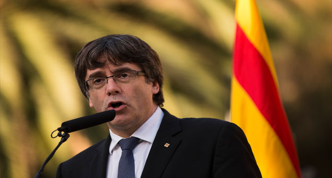 Catalan Parliament Blasts Madrid 'Authoritarianism', Defends Puigdemont
