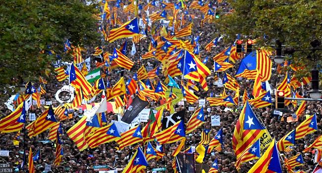 Pride In Being Spanish Reborn In Catalonia