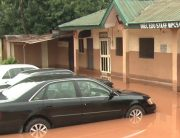 Flood Hits INEC HQ In Edo, Destroys Properties
