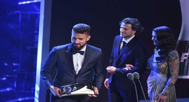 Olivier Giroud Wins 2017 Puskas Award