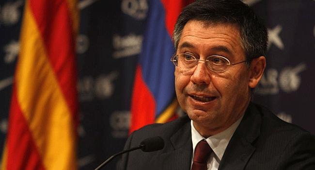 Bartomeu Announces His Resignation As Barcelona President
