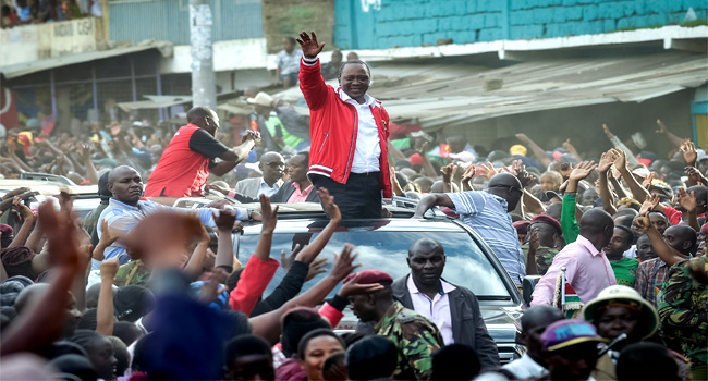 Election Victory 'Revalidates' Will Of The People, Says Kenyatta