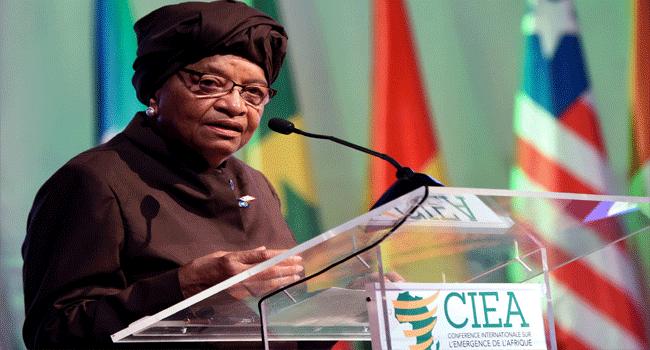 Sirleaf's Son Arrested After Probe At Liberia Central Bank