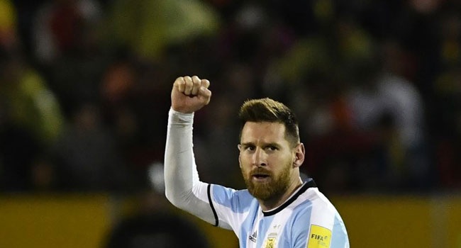 Messi'sHat-trick Fires Argentina Into World Cup