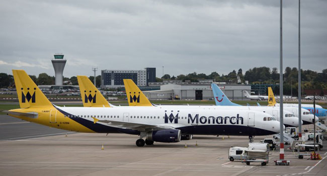 Monarch Airlines Collapse Leaves 110,000 Passengers Stranded