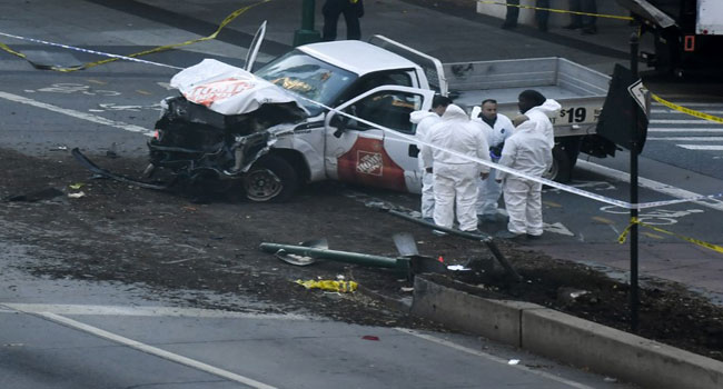 Eight Killed In New York 'Act Of Terror', Says Mayor