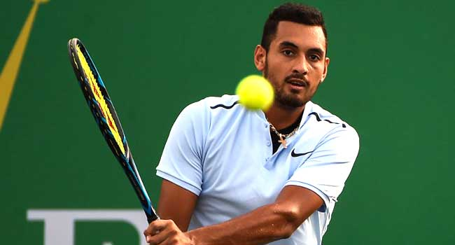 Kyrgios Up Four Spots In ATP Rankings
