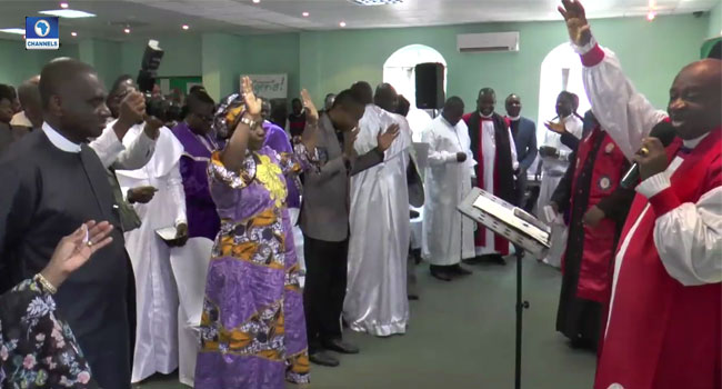 Nigerians In South Africa Pray ForThe Country At 57