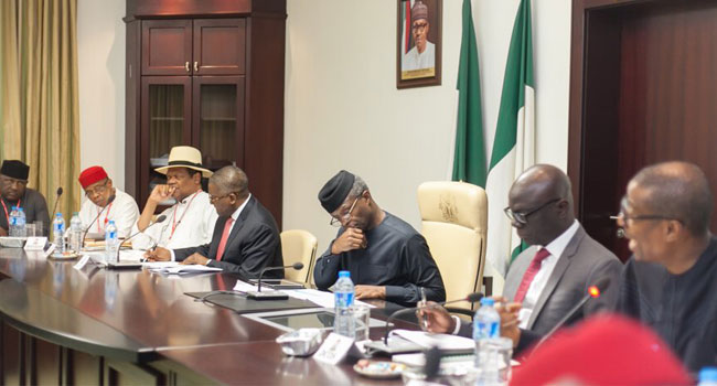 Osinbajo Inaugurates Industrial Policy, Competitiveness Advisory Council