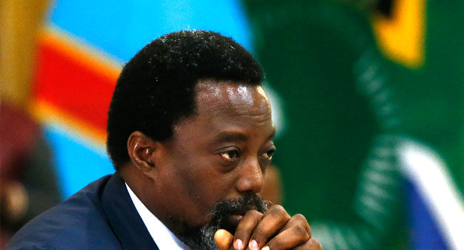 US Welcomes Kabila's Decision To Step Aside, And Not Seek Re-election