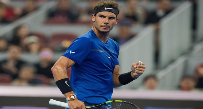 Nadal Battles Past Cuevas To Reach Paris Quarters