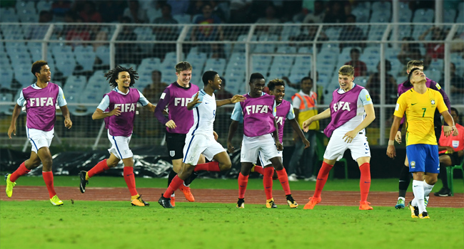 FIFA U-17 World Cup: Brewster Blasts Brazil To Put England In Final