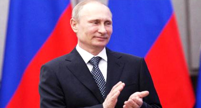 Putin Wishes Russians 'Changes For The Better' In 2018