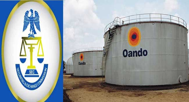 SEC Orders Resignation Of Oando Board, Bars Wale Tinubu
