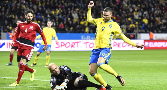 Sweden Thrash Luxembourg To Pile Pressure On France