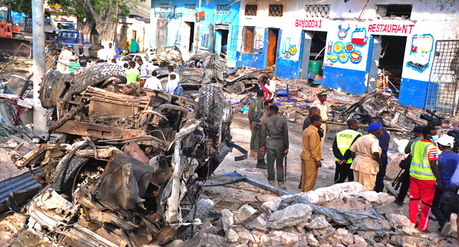 Car Bombs Kill 18 In Somali Capital