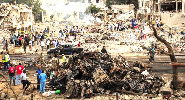 276 Persons Dead In Somalia's Deadliest Bombing