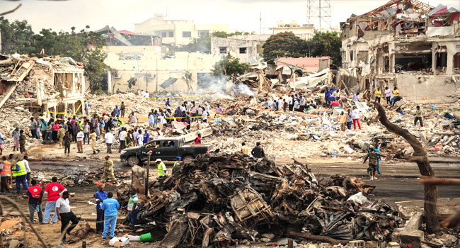 Somalia's Deadliest Bombing Kills 276, Injures 300