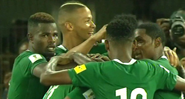 Nigeria Beat Zambia To Qualify For 2018 FIFA World Cup