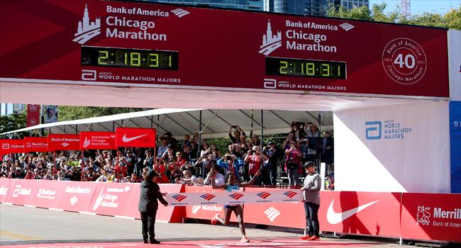 Ethiopia's Dibaba Wins Women's Chicago Marathon