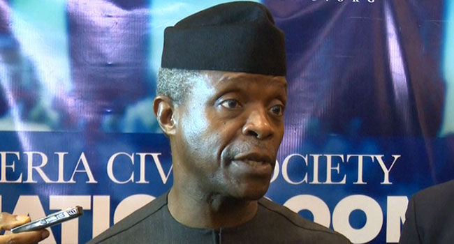 APC Is On A Revolutionary Mission, Says Osinbajo