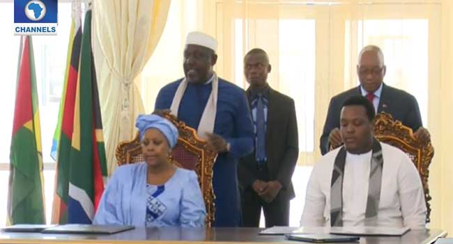 Okorocha, Zuma Sign MoU On Child Development