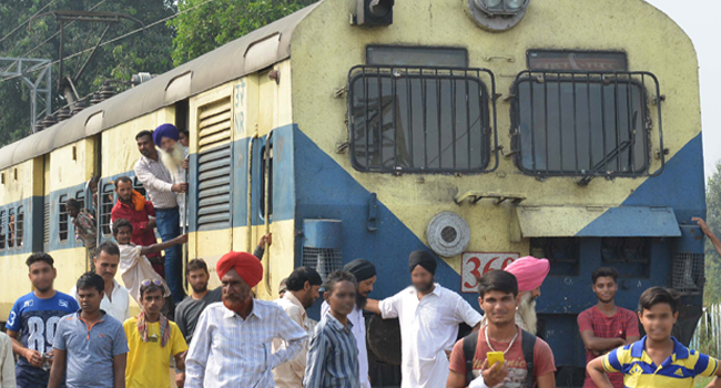 At Least 50 Killed In Indian Train Disaster