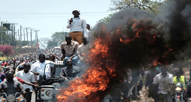 Kenya's Opposition Leader Calls For Mass Protest On Election Day