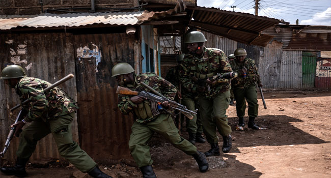Kenyan Police Arrest Three For Trying To Enter British Army Camp
