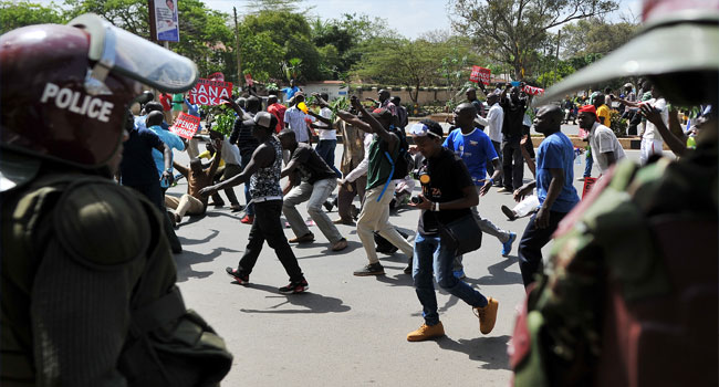 Image result for Kenya bans protests in main city centres