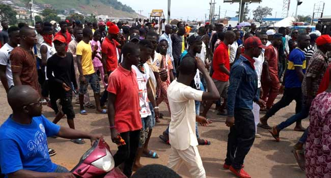 Kogi Is Not An IDP Camp, Youths Protest
