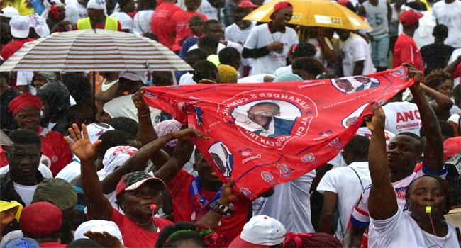 Liberians Choose New President As Sirleaf Steps Aside