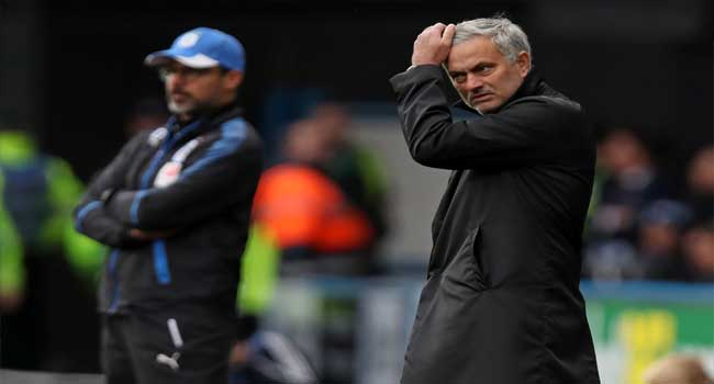 Mourinho Fumes As City Pull Away After United Loss
