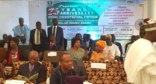 NABTEB Holds Symposium In Edo