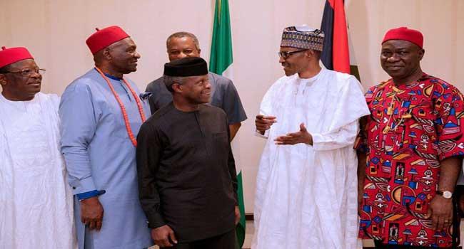 South-East Not Marginalised, Says Buhari