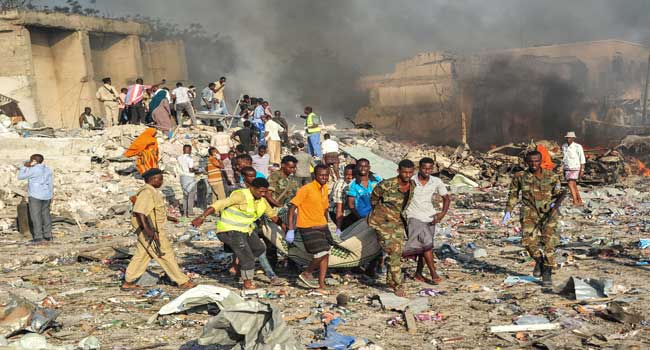 Nearly 30 Dead As Truck Bomb Rocks Somali Capital