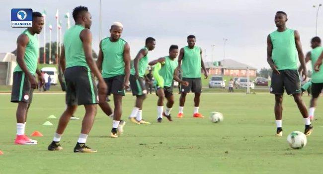 Super Eagles Train Ahead Of Zambia Clash