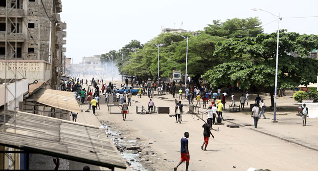 Five Injured In New Clashes In Togo's Capital