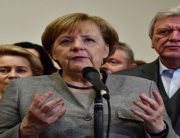 Germany's Merkel Makes Breakthrough In Bid To Form Coalition