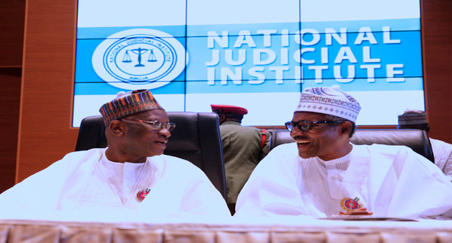 PHOTOS: Buhari Launches 2017 All Judges Conference