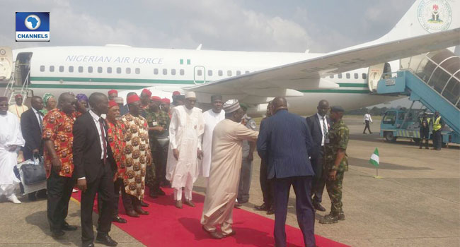 Buhari Makes First South East Visit As President