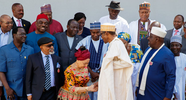 Buhari Asks Committee To Base New Minimum Wage On Social Justice