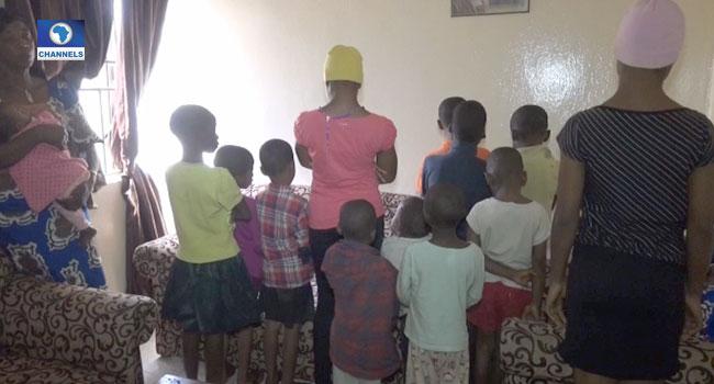 Police Rescue 19 Children From Traffickers' Den In Kaduna