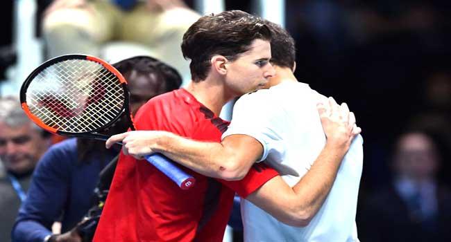 Dimitrov Defeats Thiem At ATP Finals