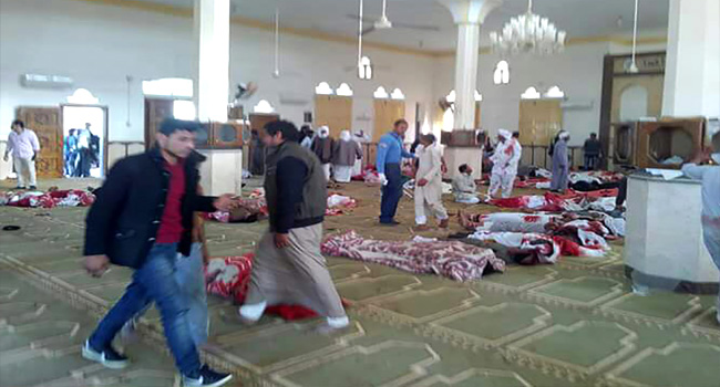 Egypt Mosque Attack Death Toll Rises To 305, Including 27 Children