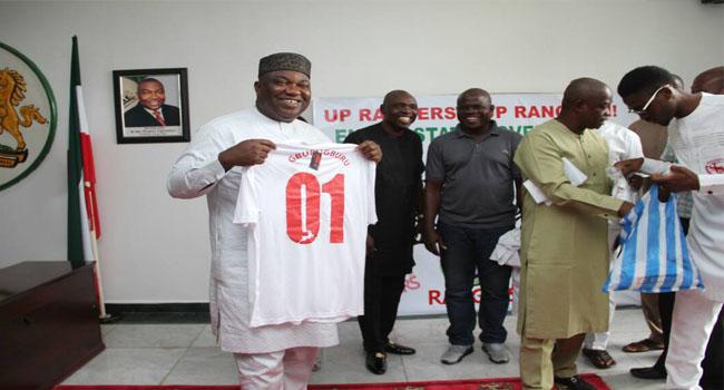 Ugwuanyi Unveils Gbenga Ogunbote As Rangers' New Coach