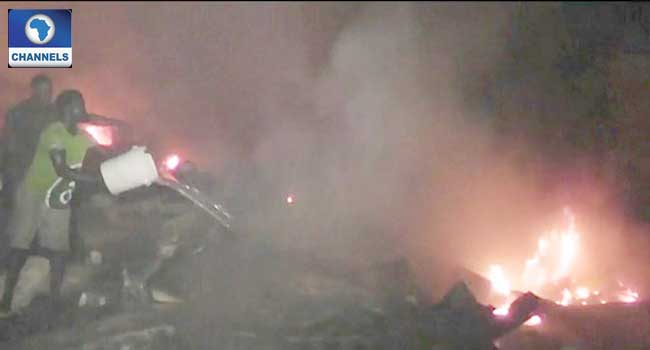 Calabar Traders Blame Government As Fire Destroys Electronics Market