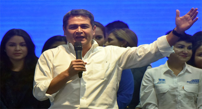 Honduras Opposition Bid To Annul President's Re-Election Rejected