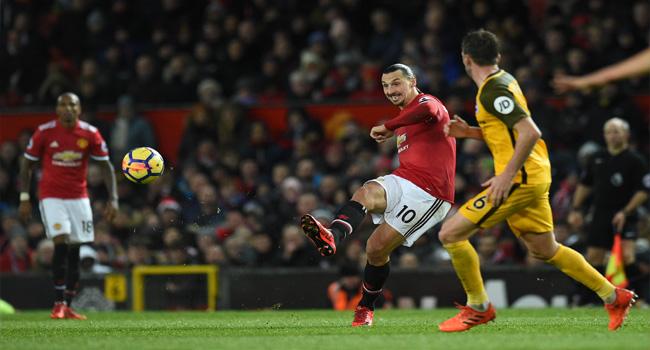 Ibrahimovic Inspires United To Narrow Win