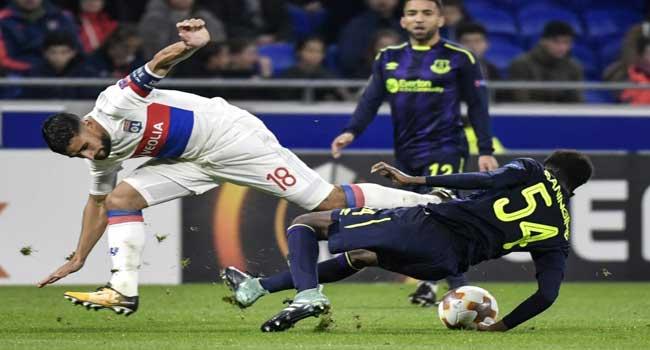 Lyon Dump Everton Out Of Europe, Milan Must Wait